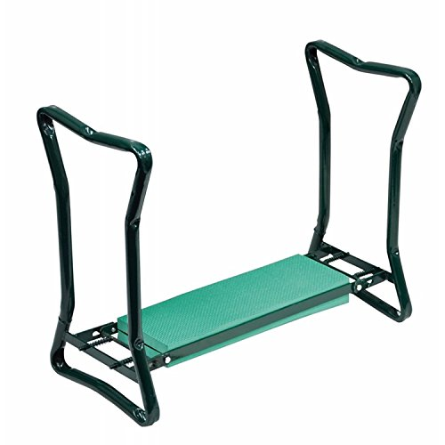 Portable Folding 2 in1 Garden Kneeler With Handles and Foam Padded Seat Bench