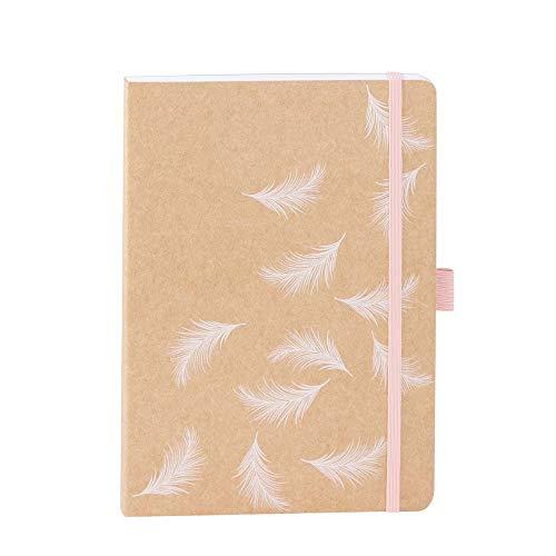 ARTEBENE Notizbuch Notizheft Schreibheft Schreibbuch Kraft A5