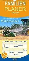 Giganten in der Landwirtschaft - Maehdrescher - Familienplaner hoch (Wandkalender 2022 , 21 cm x 45 cm, hoch): Maehdrescher, Hightech-Giganten im Einsatz in der Landwirtschaft. (Monatskalender, 14 Seiten )