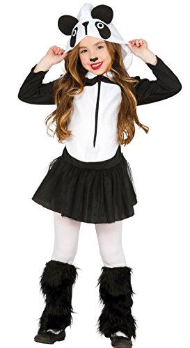 Guirca- Disfraz oso panda, Talla 10-12 años (83251.0)