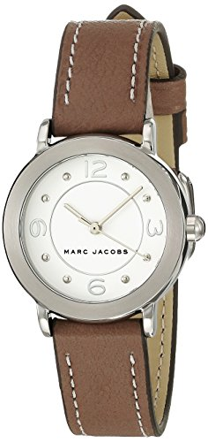 Marc Jacobs Women's Riley Cement Leather Watch - MJ1472