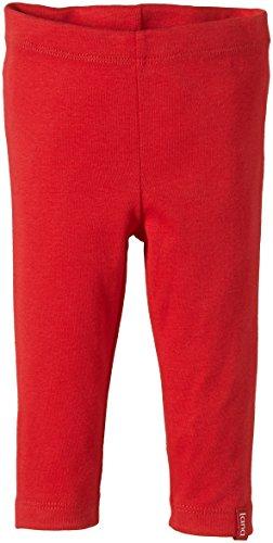 Lana Natural Wear Baby - Mädchen Legging Paula, Einfarbig, Gr. 68 (Herstellergröße: 62/68), Rot (Tomate 455)