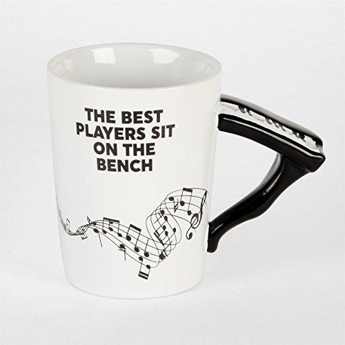 Nieuwigheid Piano Mok Gift - Beste Spelers zitten op de bank