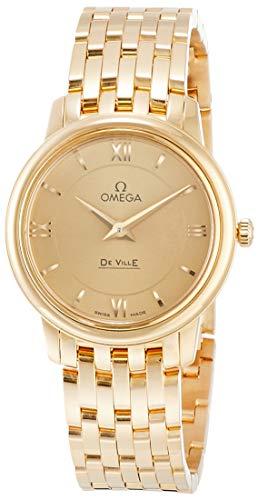 [オメガ] 腕時計 デビルプレステージ ゴールド文字盤 424.50.27.60.08.001 レディース 並行輸入品 ゴールド