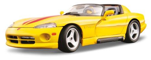 BBurago - 12024 - Voiture sans pile - Reproduction - Dodge Viper Rt/10 - échelle 1/18 - Coloris aléatoire