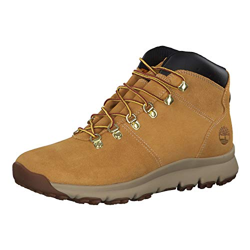 Timberland Herren Wanderstiefel World Hiker Mid Wheat 44