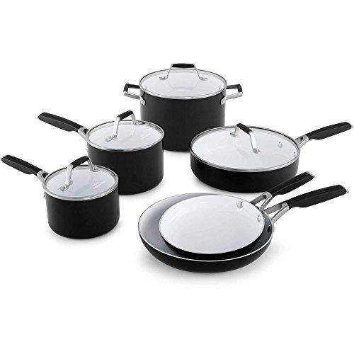Select By Calphalon Ceramic Nonstick, 10-Piece Cookware Set