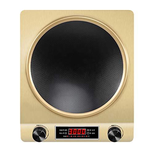 Bruciatore Portatile Da Piano, Fornello A Induzione Concavo 3000w, Tecnologia Di Riscaldamento Rapido, Piano Di Cottura A Induzione