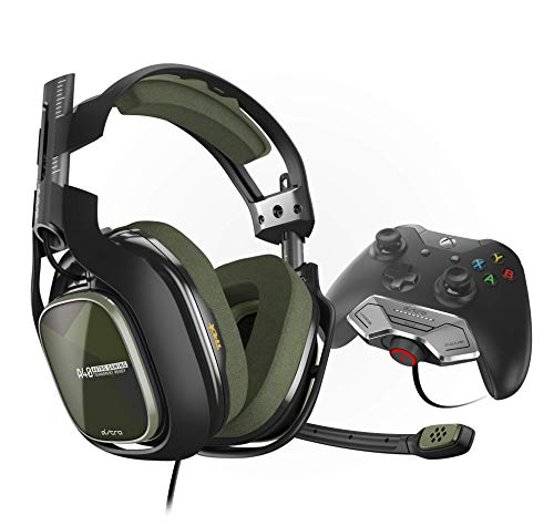 Astro Gaming A40 TR Auriculares Gaming con Cable + MixAmp M80, Gen 3, Sonido Dolby 7.1 Surround, Audio Jack 3,5 mm,Etiquetas Personalizables, Peso Ligero,Listo para Mod Kit, PC/Mac/Xbox One