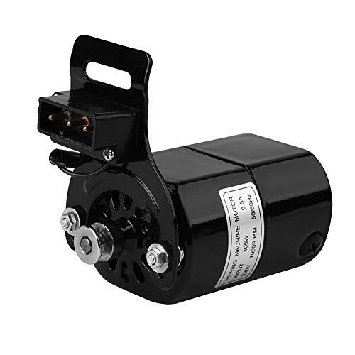 ViaGasaFamido 1 Uds 220V 100W Motor de máquina de Coser para el hogar para 7000 RPM K8209 Soporte 0,5 AMP Enchufe de la UE