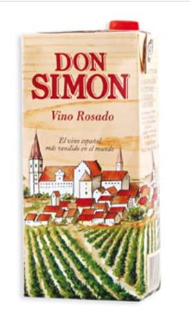 Vino Rosado Don Simón Brick - 1 Lt - 12 Und
