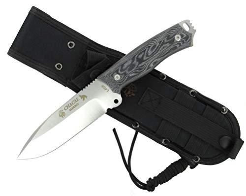 J&V Knives Cuchillo CHACAL MAKRO de Supervivencia Bushcraft Caza Pesca Campo Monte...