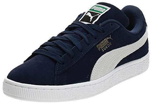 PUMA Damen Suede Classic+ Snk Sneakers, Blau (peacoat-white), 38.5 EU