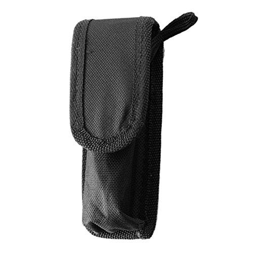 Favourall Nylon Taschenlampe Holster Outdoor Taschenlampe Tasche Halter Im Freien Aktivitäten Praktisch und Haltbar Für LED Taschenlampe 15cm