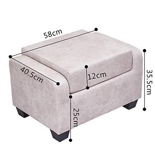 TOPYL Moderne Akzent Sessel Zeitgenössische Stil Familie Home Sofa Möbel Fass Zurückweichenden Arm Design, Kreativ Design Kleine Hocker Stuhl-g