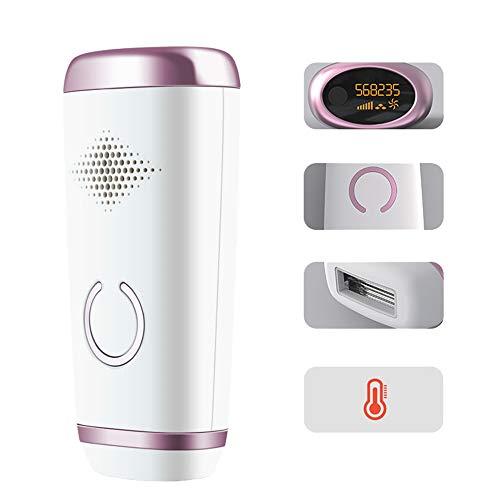 HANFEI - Depiladora de luz pulsada, 500 000 flashes, IPL, depiladora definitiva, adecuada para equipos de depilación permanente del cuerpo entero, depilación suave