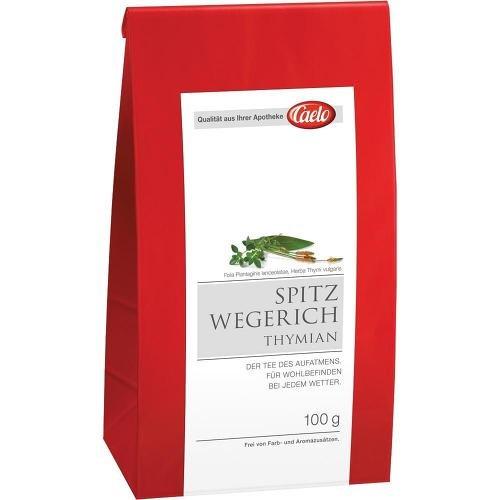 CAELO Spitzwegerich Thymian Tee HV Packung 100 g