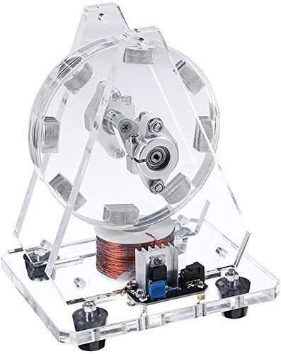 Motor Bedini Modelo sin escobillas Imanes Pseudo Perpetuo Movimiento Motor de disco 24V Juguete de ciencia