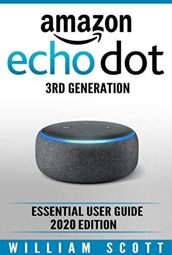 Amazon Echo Dot 3rd Generation Essential User Guide 2020 Edition product image