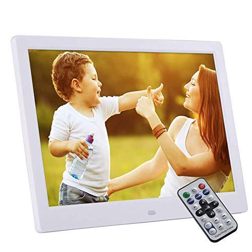 Marco de fotos digital, 13 pulgadas 1280x800 HD LED (16: 9) Soporte 1080P - Pantalla de fotos electrónica Reproductor MP3 / MP4 Máquina de publicidad multifunción Soporte Música Video Reloj Calendar