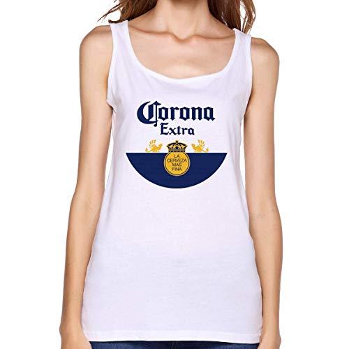 GGdjst Corona Extra Womans Comfort Grappig Cool Katoen Tank Top - - XL