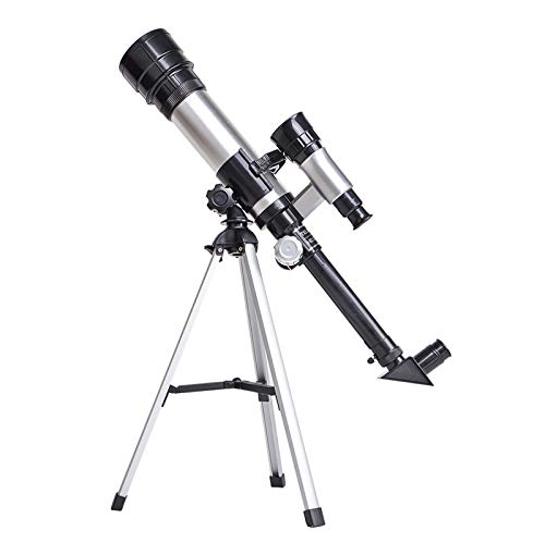 Telescopes for Adult and Kids, 50mm Aperture Telescope with Tripod, Astronomical Refracting Telescope Astronomy Professional Gifts for Astronomy Beginners, Telescope with 2 Magnification Eyepieces