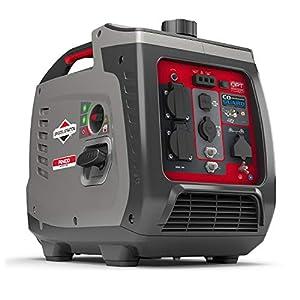 Briggs & Stratton Generador Portátil Inverter PowerSmart Series P2400, 2400 Watt/1800 Watt es Potencia Limpia, Ultra silencioso y Ligero, W