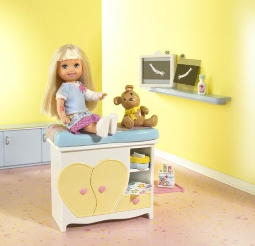 Check-up Time Kelly Doll by Mattel