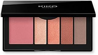 KIKO Milano Smart Eyes And Cheeks Palette 03 | Palet voor ogen en gezicht met 1 blusher en 4 soorten oogschaduw