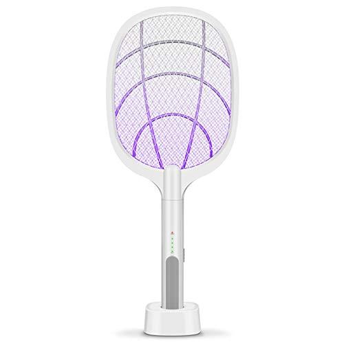 Ba30DEllylelly Matador de mosquitos multifuncional, matador de mosquitos de doble propósito, lámpara para el hogar, matamoscas de descarga eléctrica, matamoscas