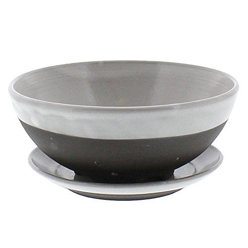 Retro Classic Berry Bowl Saucer Set  White Colander Strainer Plate