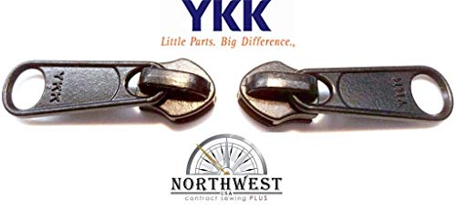 YKK #5 CN Zipper Slider. These Sliders are Made for YKK CN Coil. CN Coil is a Continuous Extruded Coil of Zipper. (Sold Separately) (Black Qty 10)