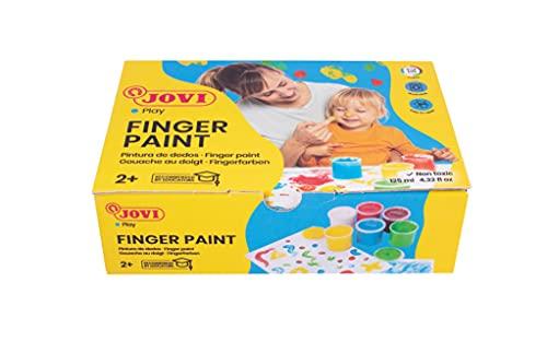 Jovi-560/S Pintura de Dedos, Color Surtido, 125 ml (560/S)
