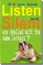 listen silent same letters