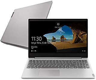Notebook Lenovo Ultrafino ideapad S145 i5-1035G1 8GB 1TB Windows 10 15.6 82DJ0001BR Prata