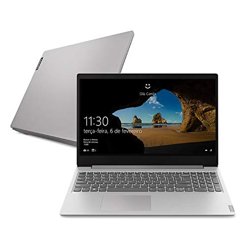 "Notebook Lenovo Ultrafino ideapad S145 i5-1035G1, 8GB 1TB Windows 10 15.6"" Dolby Audio Design Leve e Compacto, Prata"