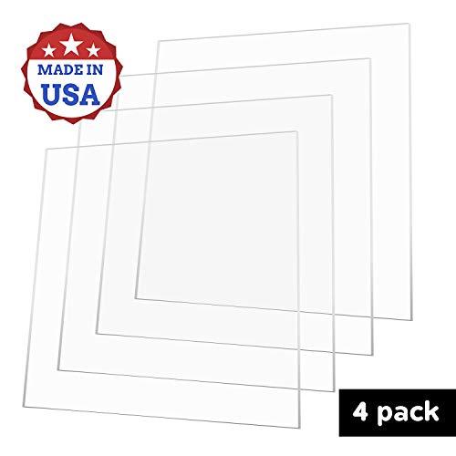 ".060/"" X 12/"" x 12/"" Flat Sheet Polycarbonate Clear 1//16"