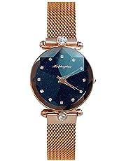 レディース 腕時計 星空フェイス ひし形デザイン ウォッチ 防水 アクセサリー 贈り物 かわいい おしゃれ 女性 ファッション時計