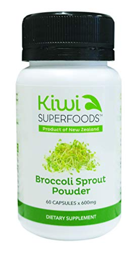 New Zealand Broccoli Sprout Powder Capsules 60 x 600mg