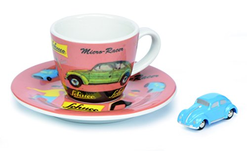 "Schuco 450986600\"" Piccolo Set Espressotasse Micro Racer Fahrzeug"