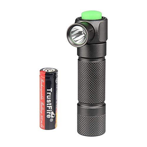 TrustFire Z2 14500 AA LED Taschenlampe 280 Lumen mit CREE XP-E R3 LED, 1 x 14500 Akku und Magnetische Endkappe - 5 Modi inklusiv. Strobe-Modus und SOS für Indoor, Outdoor, Nacht und Wandern