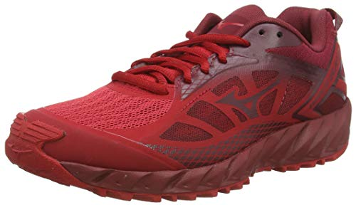 Mizuno Wave Ibuki 2, Zapatillas de Running para Asfalto Hombre, Rojo (Cred/Biking Red 56), 41 EU