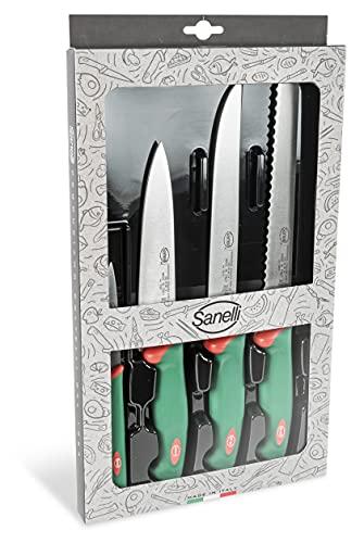 Sanelli 909604 Confezione Coltelli Chef 4 Pezzi
