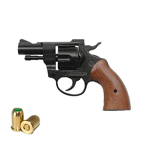 Revolver a Salve BRUNI Olympic Cal.380 | Top Firing | Nero