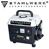 STAHLWERK Stromgenerator SG-20, 2 PS, Benzingenerator, Stromerzeuger, Notstrom-Aggregat, zuverlässig und leistungsstark, verbrauchseffizient und wartungsarm