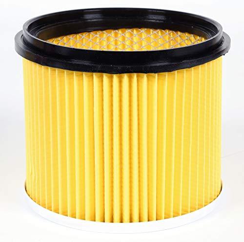 Einhell Original Ersatzfaltenfilter mit Deckel (geeignet für Einhell Nass-Trockensauger, zum Trockensaugen, 150 mm Durchmesser, 155 mm Höhe)