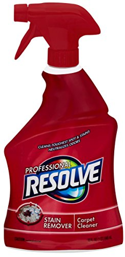 Resolve Professional Strength Spot and Stain Carpet Cleaner, Red, 32 Fl Oz (Pack of 1)