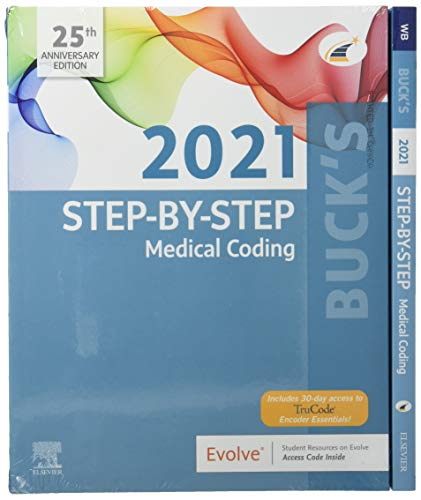 Compare Textbook Prices for Buck's Medical Coding Online for Step-by-Step Medical Coding, 2021 Edition Access Code, Textbook and Workbook Package 1 Edition ISBN 9780323792769 by Elsevier
