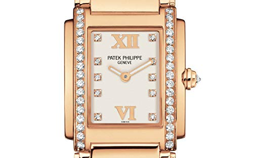Patek Philippe Twenty4 Rose Gold 4910-11R-011 with Timeless White dial