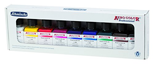 Schmincke AERO COLOR Professional Airbrushfarben Set